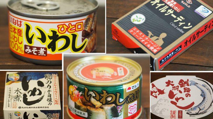 【まとめ】日本さかな検定1級が選んだ!おすすめのいわし缶5選【いわし缶】