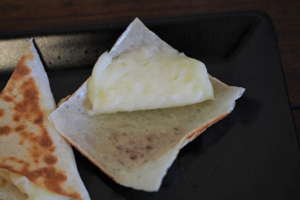 たっぷり入ったチーズ