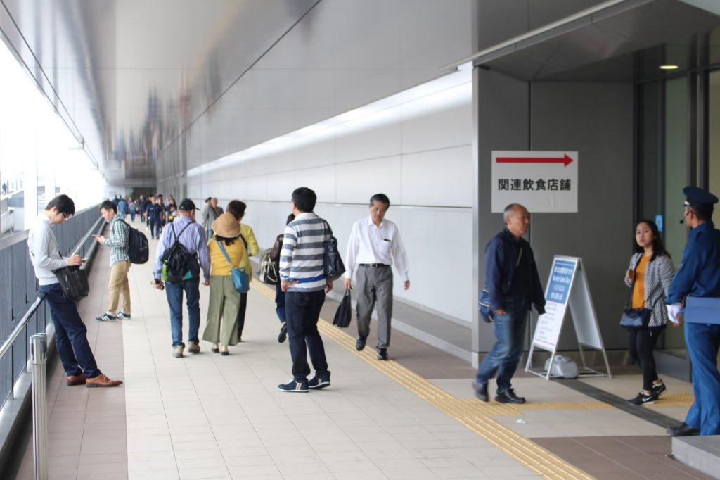 豊洲市場のお寿司屋さんはここに集合している