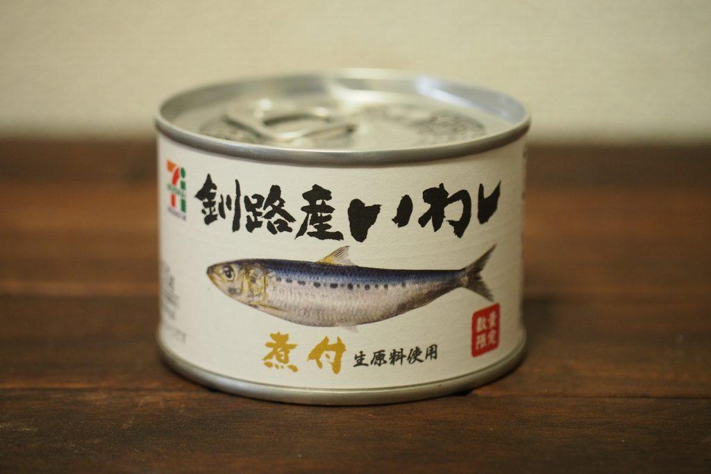 7プレミアムのいわし缶詰『釧路産いわし煮付』