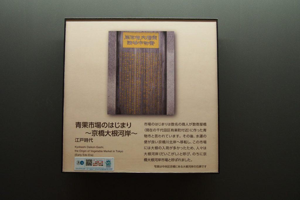 東京の青果市場のはじまり