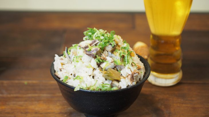 【動画あり】高品質サバ缶とウェイパーで臭みなし最高にウマい中華風炊き込みご飯ができるよ!炊飯器レシピ